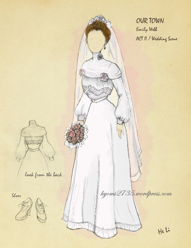 Costume Rendering For OUR TOWN Kyomi2735s Blog